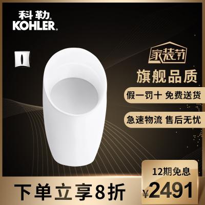 科勒小便器掛墻壁掛式尿斗家用陶瓷感應男士小便池小便斗K-18645T