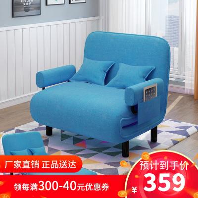 多功能沙發床 加硬折疊床1.2米沙發床 單雙人午休午睡保姆休息陪護沙發