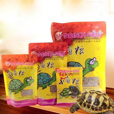 龟粮活体饲料通用补钙陆龟粮食龟龟粮巴西龟草龟鳄龟食物颗粒型 龟粮500g