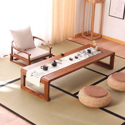 歐若凡榻榻米桌子小茶幾陽臺飄窗桌禪意地桌日式茶桌實木炕幾新中式矮桌