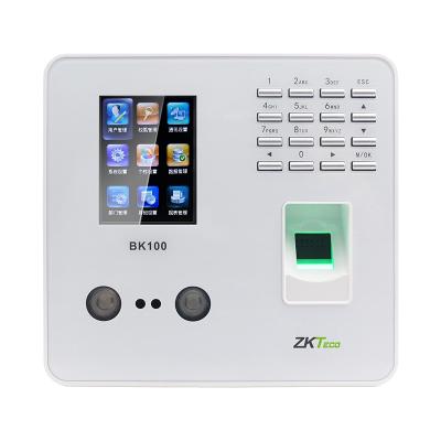 ZKTeco熵基科技股份有限公司BK100人臉識別考勤機指紋打卡機面部識別簽到機上班人臉識別打卡器