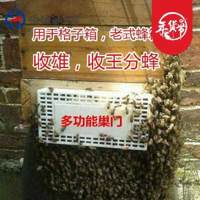 定做 蜂具多功能巢門蜜蜂自動分蜂器中蜂分蜂器收蜂器收王分蜂籠跑器