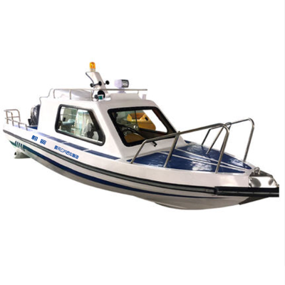 翱毓(aoyu)WH680型公务执法巡逻艇 游艇快艇巡逻船 钓鱼巡逻渔船 抗洪救灾指挥船 裸船不含外机
