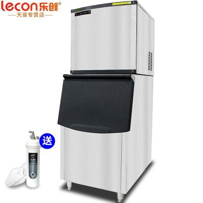 樂創(lecon)200KG大型制冰機商用 奶茶店全自動大型容量ktv小型家用迷你方冰塊 12*13格