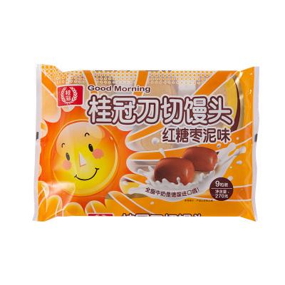 桂冠 刀切馒头 枣泥味 270g 营养早餐 包子