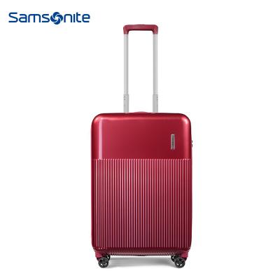 新秀丽(samsonite)万向轮拉杆箱旅行箱密码行李箱飞机轮硬箱男女20/25/28寸 DK7