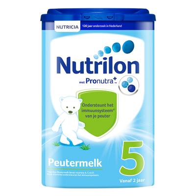 【乳糖配方】荷蘭牛欄 諾優能荷蘭版 Nutrilon海外 兒童配方奶粉易樂罐 5段(2歲以上)800g/罐