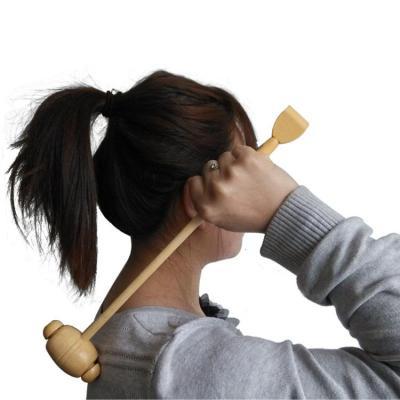 搭啵兔不求人竹制痒痒挠抓背抓痒神器手竹节木质捶背器按摩锤