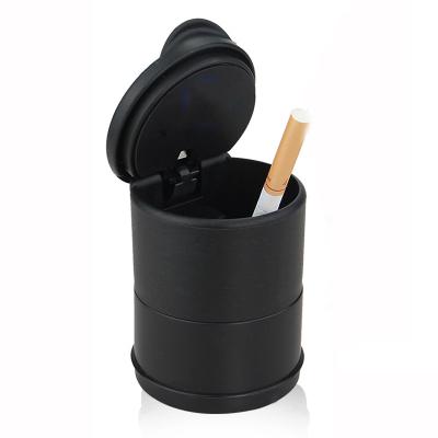 靜航(Static route)汽車內飾用品車載高杯煙灰缸耐高溫帶燈煙灰缸 車用有蓋煙灰缸