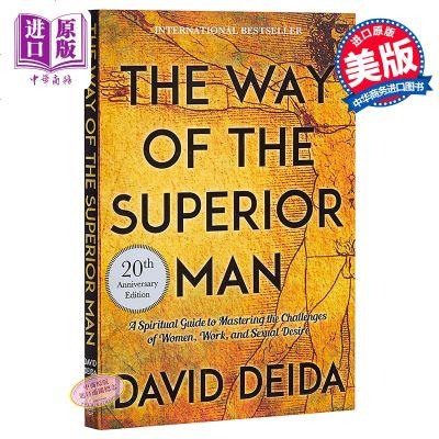 【中商原版】高级男人手册(20周年纪念版)英文原版 The Way of the Superior Man