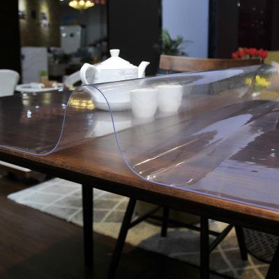 凡軒 PVC防水桌布臺布餐桌布軟玻璃磨砂水晶板塑料桌墊免洗茶幾課桌墊