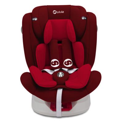 路途樂汽車兒童安全座椅isofix硬接口 360°旋轉 坐躺可調0-12歲寶寶座椅 Air S+ 雅典紅