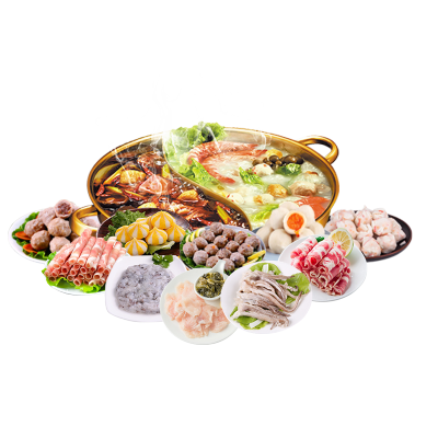 渔鼎鲜 海鲜食材火锅10种海鲜组合套餐1850g 麻辣烫火锅豆捞火锅5-7人份