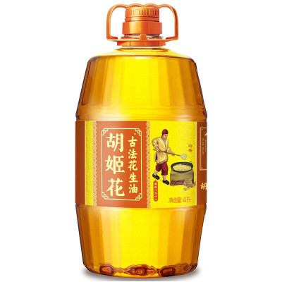 胡姬花 特香/古法花生油4L
