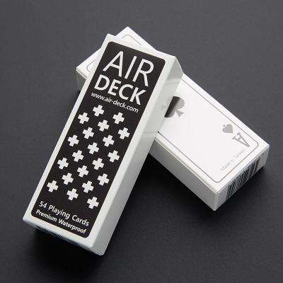 因樂思(YINLESI)香港Air Deck正版防水耐用高品質旅行小撲克牌戶外便攜極簡紙牌