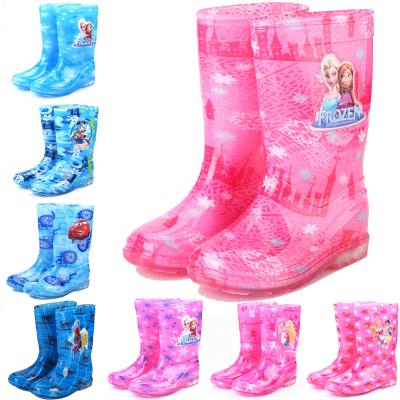 高筒兒童雨鞋水鞋雨靴寶寶防滑學生小女孩女童男童膠鞋學生大童夏 莎丞