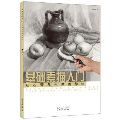 正版 基礎素描入·從石膏幾何體到靜物 美術繪畫書 素描書自學零基礎教程書 書籍繪畫 素描/速寫