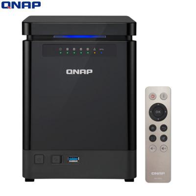 威联通(QNAP)TS-453Bmini 8G内存 四核处理器 直立 NAS 四盘位网络存储(无内置硬盘)