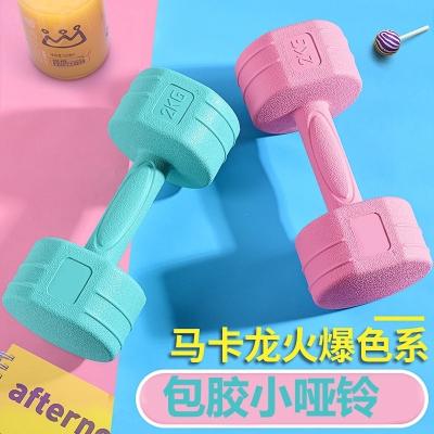 哑铃女士一对瘦手臂儿童家用健身器材2/3/4/5kg闪电客初学者小哑铃男士