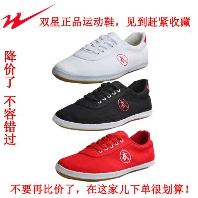 太极鞋青岛运动鞋太极鞋帆布男女款武术鞋跑鞋跑步鞋