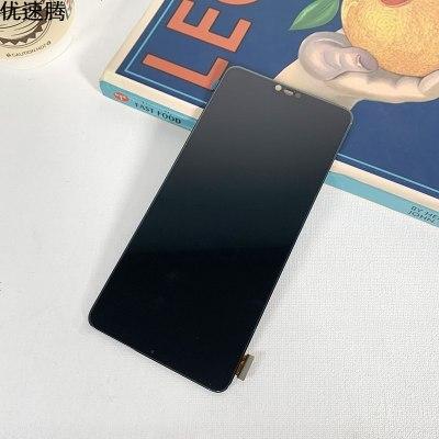 優速騰 適用于r15屏幕總成oppo劉海屏單片可換蓋板液晶顯示屏R15組裝全新 黑色單片劉海屏 可換蓋板