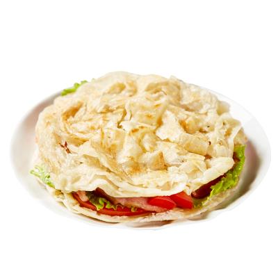 赤豪 手抓饼原味2.4kg (30片) 牛肉培根火腿伴侣 营养早餐煎饼