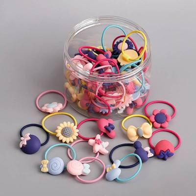 搭啵兔韩版儿童宝宝小女孩橡皮筋扎头发可爱卡通公主头绳头饰品发圈发绳