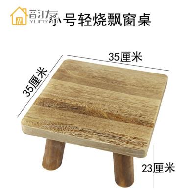 实木飘窗桌榻榻米桌子阳台小茶几和室喝茶桌炕几炕桌地台矮桌