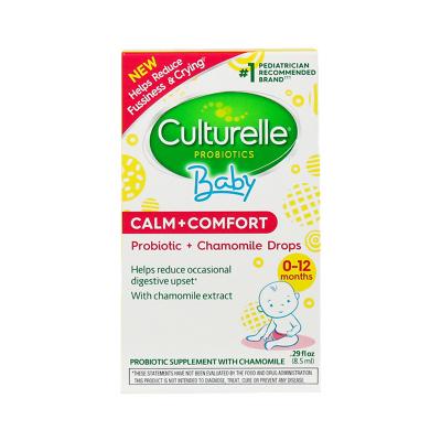 康萃乐(Culturelle)婴幼儿进口益生菌洋甘菊滴剂营养素8.5ml/盒装