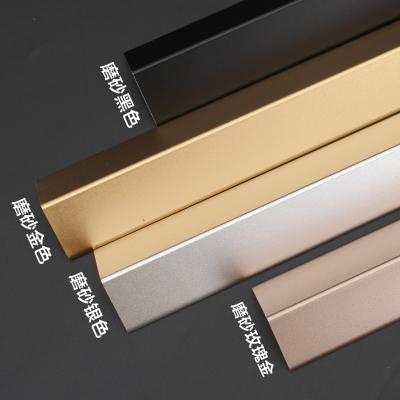 鋁合金護角條裝修護墻角保護條墻護角包角防撞陽角墻紙收邊條線貼 金色4.0寬 1m