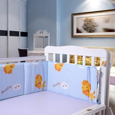 优简婴儿床围春夏床帏可洗棉防撞透气宝宝床围婴儿床上用品