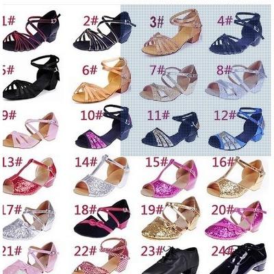 儿童拉丁舞鞋女童拉丁舞鞋儿童舞蹈鞋少儿拉丁舞鞋拉丁舞鞋女儿童