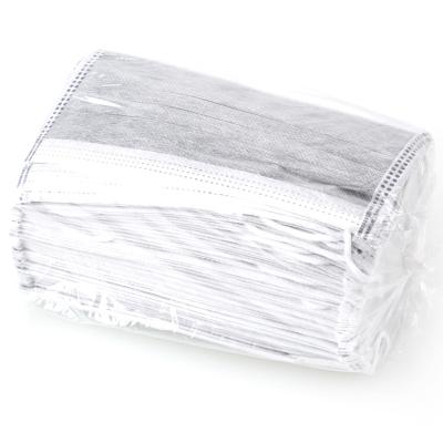 賽拓(SANTO)2006 一次性活性炭口罩50只裝*2盒 無紡布 三層過濾 防塵顆粒物口罩