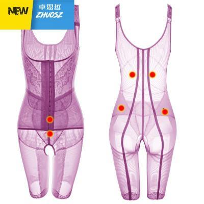 產后塑形收腹束腰美體連體塑身內衣服女肚子薄款提臀無痕  卓思哲