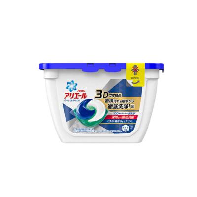 【深層抗菌】寶潔(Procter&Gamble) 日本原裝 3D洗衣凝珠球深層潔凈18顆0.356KG