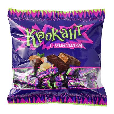 俄罗斯进口紫皮糖KDV巧克力夹心糖500g 喜糖年货小零食