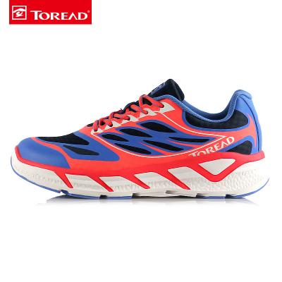 探路者(TOREAD)戶外男女厚底馬拉松越野跑鞋KFFF81338/KFFF823381