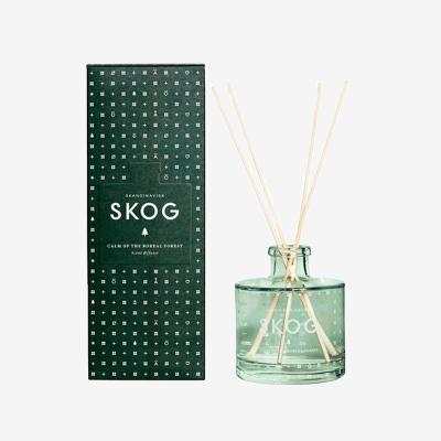 丹麥SKANDINAVISK-森林 無火香薰精油藤條家用臥室內香水擺件生日禮物