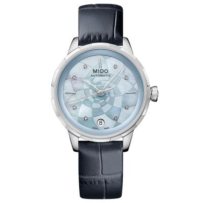 美度(MIDO)瑞士手表 花淅系列自動機械女士手表M043.207.16.131.00