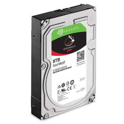 希捷 (SEAGATE) 酷狼系列 8TB 7200轉 256M 臺式組裝機企業NAS監控機械硬盤