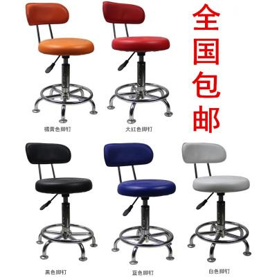 歐若凡小圓凳家用升降旋轉電腦椅酒吧椅子理發美甲化妝店矮凳子
