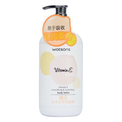 维E柔滑保湿润肤露全身补水保湿防干燥鸡皮身体乳男女士通用500ml 500g/mL