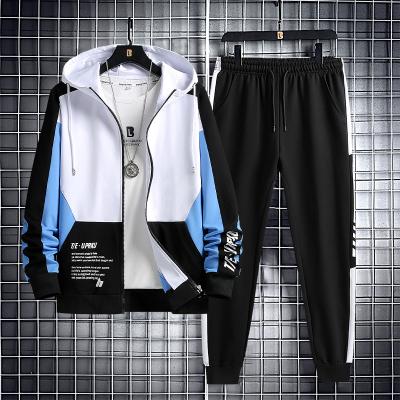 尊尚鳥(ZunshangniaO) 2020秋季新款中青年休閑衛衣套裝男新款青年初中高中學生兩件套運動套裝男