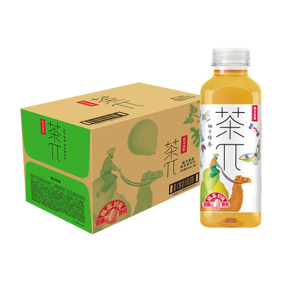 農夫山泉 茶π柚子綠茶500ml*15瓶 整箱