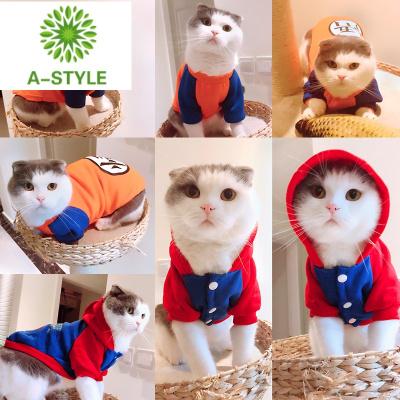 貓貓衣服狗狗衣服冬裝泰迪寵物衣服貓咪衣服秋冬小貓衣服貓咪用品