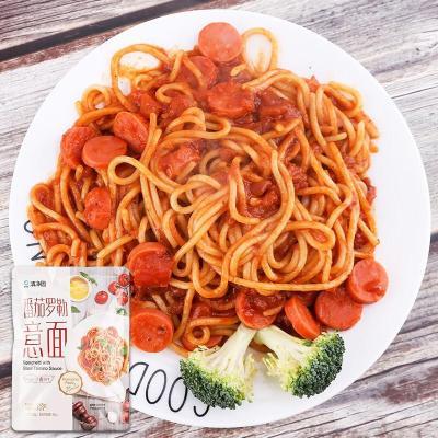 意大利面醬 意大利面番茄意面通心粉方便速食意面條 番茄意面245g/包(內含意面醬)