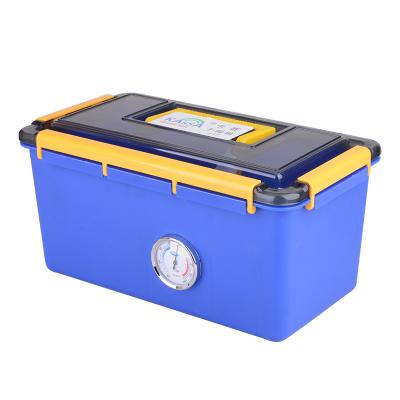 卡赛(KAssA)KS-217 单反相机简易锁定卡扣式带吸湿卡数码防潮箱干燥箱 蓝色