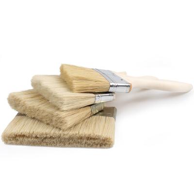 工霸(GONGBA)加厚油漆刷 扁油刷清潔刷 2英寸 50mm(10把)