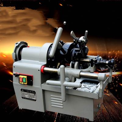 2_3_4寸電動切管套絲機法耐_FANAI_z多功能圓鋼車絲機水管開牙機板牙機 不銹鋼板牙