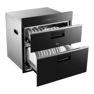 老板(ROBAM)消毒柜XB702X 105L大容量 24小时预约 中低温杀菌 紫外线+臭氧强力净化 19年11月新款
